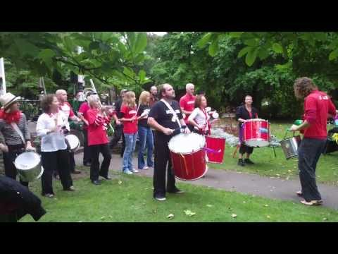 Swindon Samba, Marcha: Bandstand, 21st September 2013