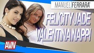 Valentina Nappi et Prinzzess Felicity Jade - AVN Expo 2018 avec Nephael