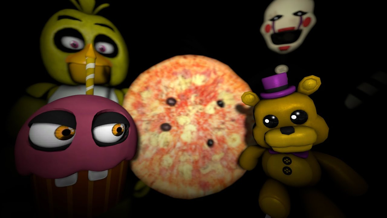 Sfm fnaf chica loses a friend youtube