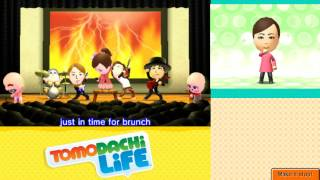Tomodachi Life: Metal and Rap Full Group Concerts