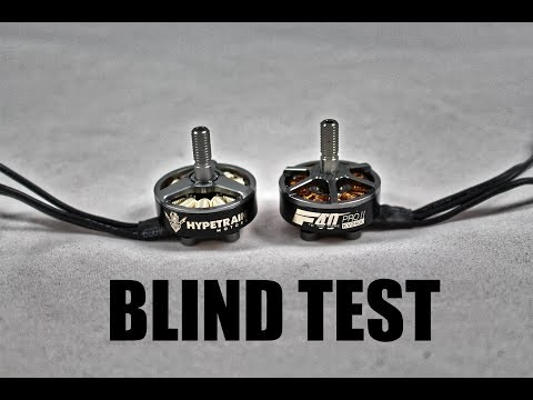 WHICH ONE IS BETTER?? Blind Test RotorRiot Hypetrain VS T-Motor F40 Pro II