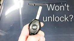 BMW key program DIY