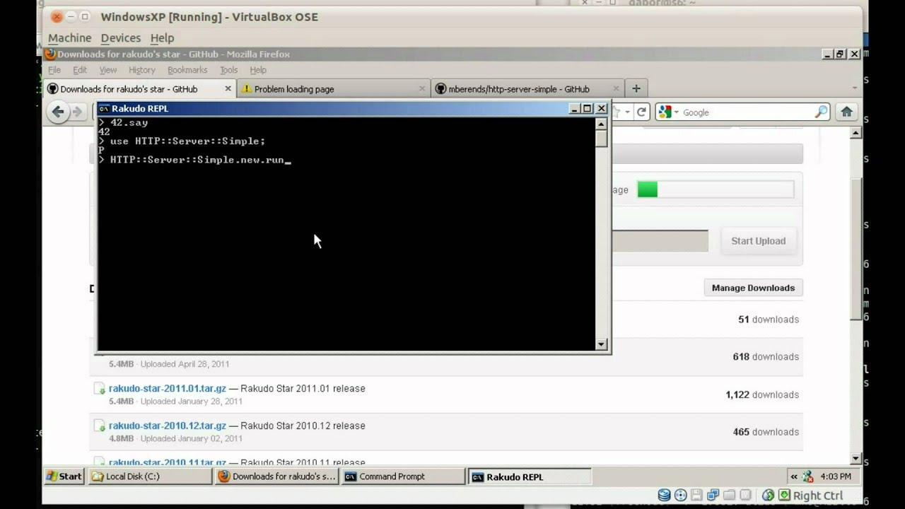 Web Server Github