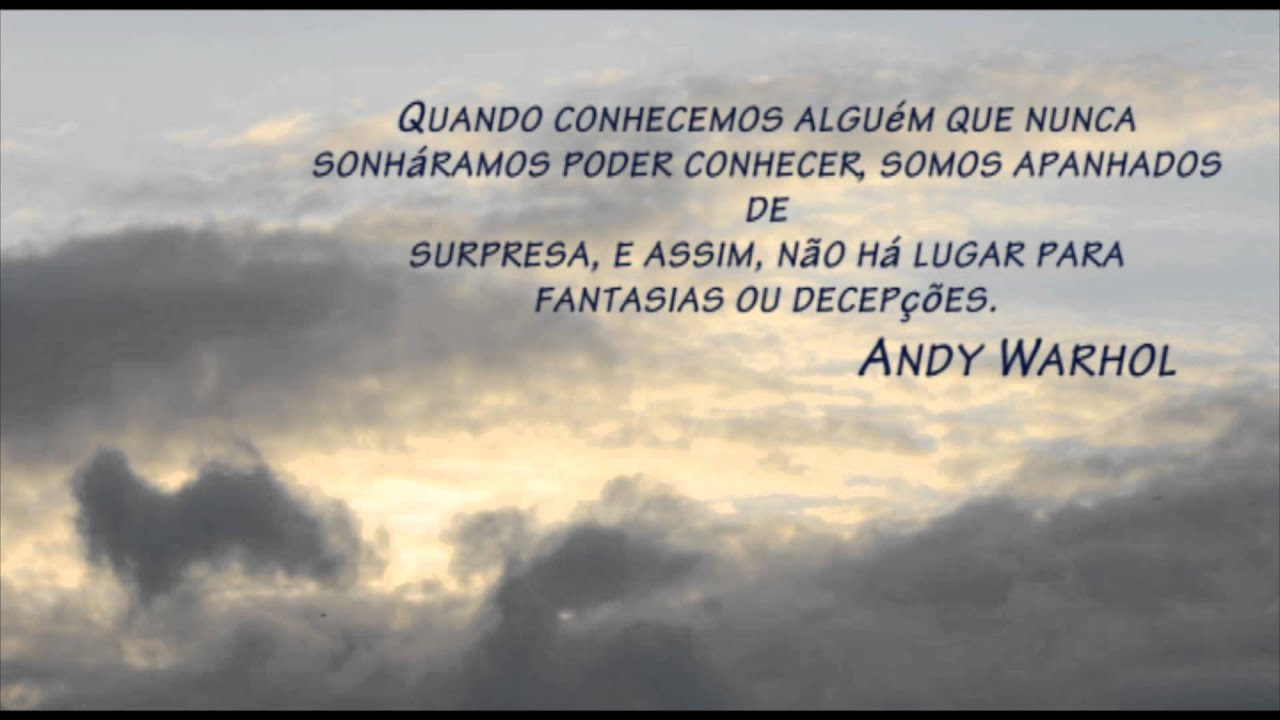 Time Lapse Frase Andy Warhol Youtube