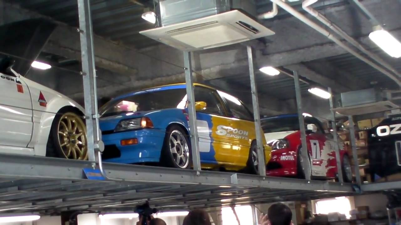 Perfect Spoon Sport Honda Civic AF Start Up In Type ONE Garage In Tokyo, By Ichima  San   YouTube