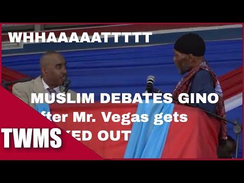 Apostle Gino Jennings & Mr Vegas Raw Footage FULL Debate HD! *** FULL VERSION ***