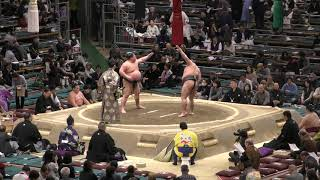 富士東-彩/大相撲2019大阪場所 5日目