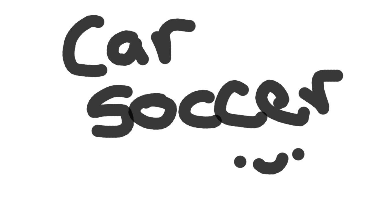 Car soccer