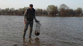 Пробная рыбалка на воблу Вобла клюет Рыбалка 29 03 2020 Рыбалка в Астрахани