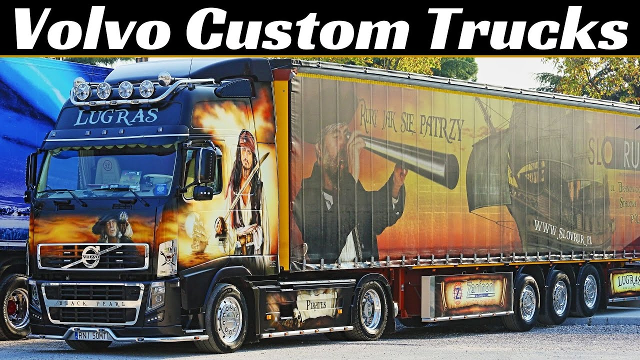 Volvo Custom Trucks/Camion Decorati, FM, FH16, FH12, NH12, Misano Weekend del Camionista, Truck Look