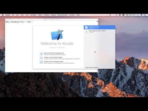 Swift 프로그래밍 1강 Swift 소개와 개발 환경 | T아카데미