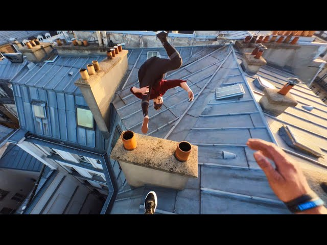 Insta360 GO 2 Parkour dans Paris - 100% shot avec GO 2