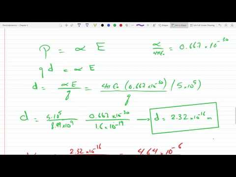 Find Bound charges  Electric and Displacement Fields inside and outside a Dielectric Cylinder