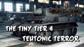 One of The Mighty Jingles's most viewed videos: World of Tanks - The Tiny Tier Four Teutonic Terror