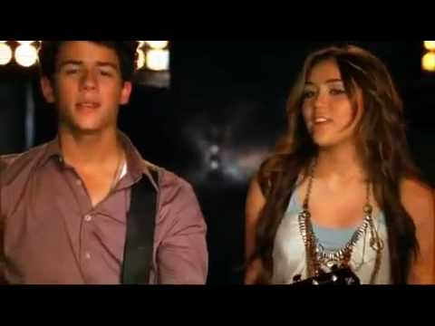 Jonas Brothers Feat Miley Cyrus & Demi Lovato And Selena Gomez - Send It On (HQ + Lyrics)