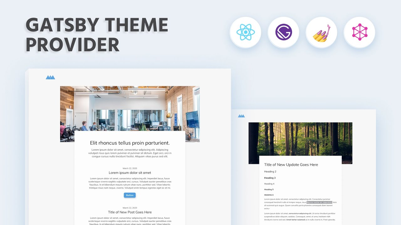 Gatsby JS Course: Styled Components Theme Provider