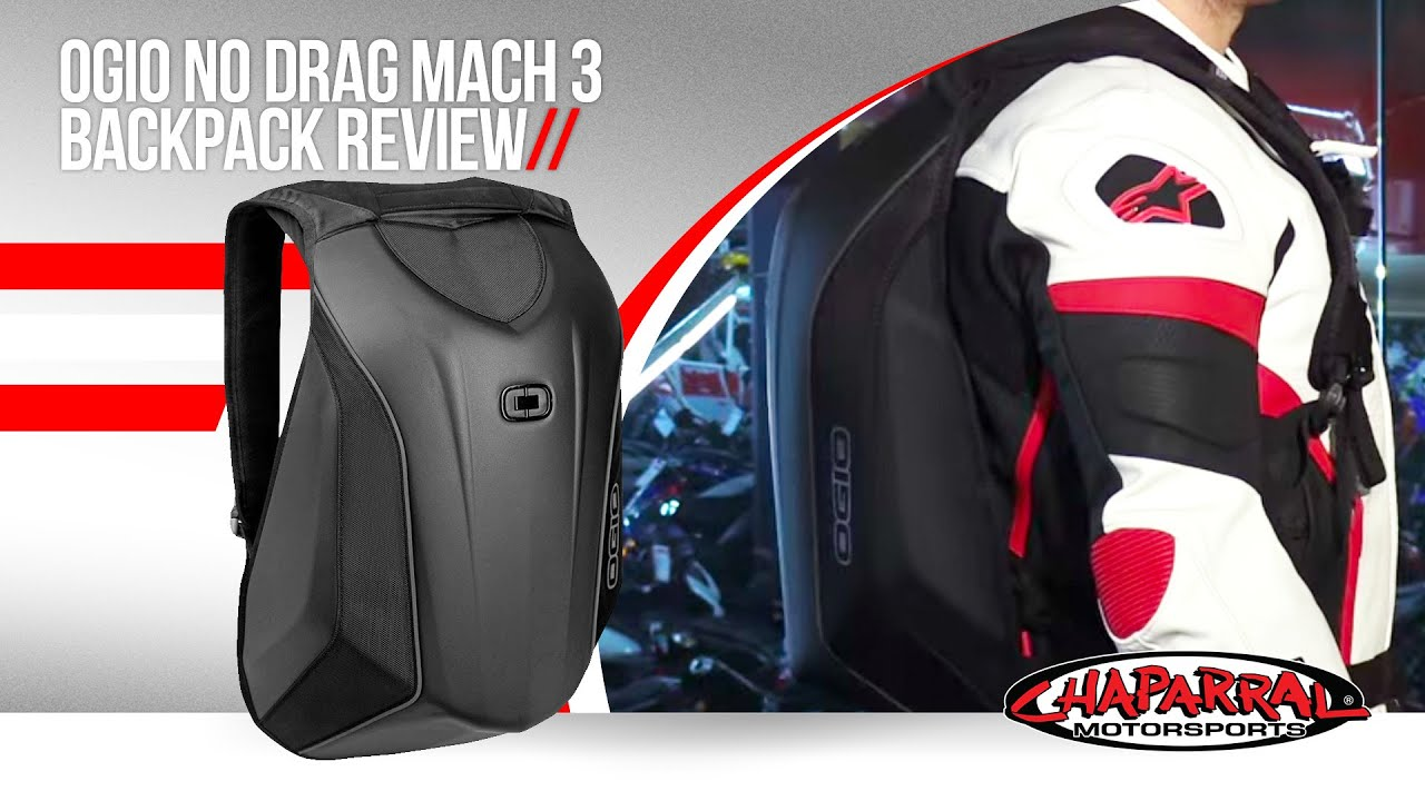 Ogio No Drag Mach 3 Backpack Review - YouTube
