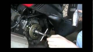 How To Fix (Replace) A GY6 Flywheel, Cdi, Stator, and Magneto