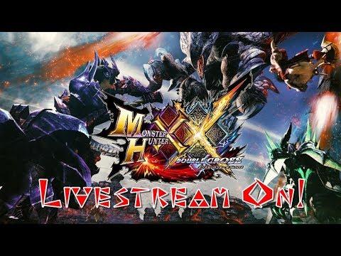 MHXX - Monster Hunter XX (3DS) (CITRA) LIVE ON! Vamos jogar ? thumbnail