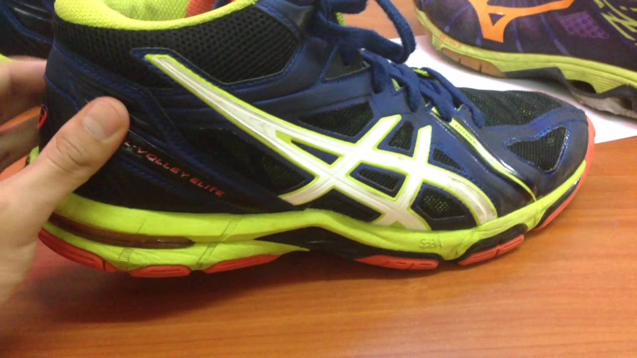 c8ae6b6b4b2a Comparison For MOOC- Asics Gel- Volley Elite and Mizuno Wave Lightning Z