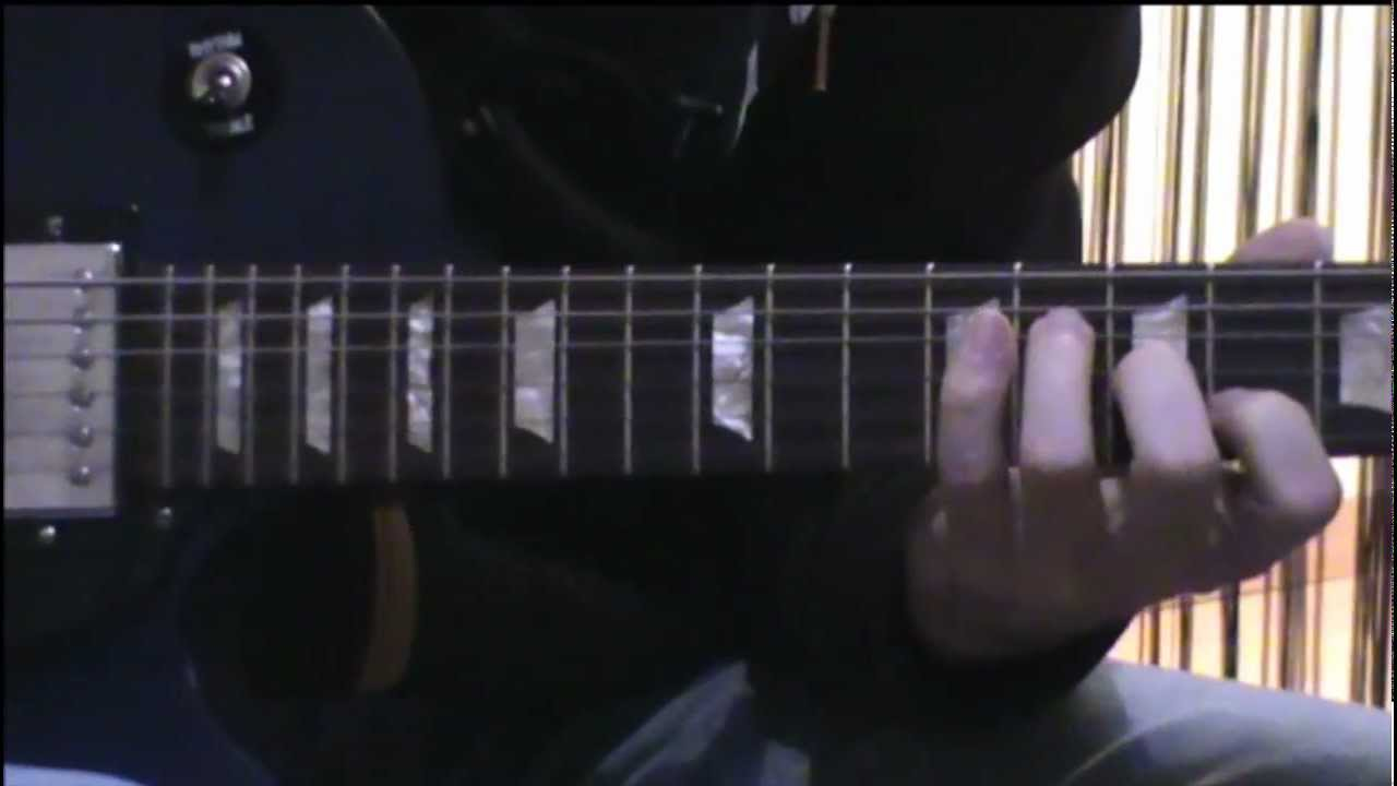 Band Of Horses The Funeral Guitar Lesson Youtube