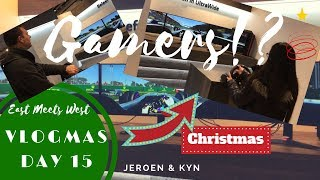 🎄 VLOGMAS Day 1️⃣5️⃣ | COOL BLUE Window Shopping | Jeroen & Kyn ❤️