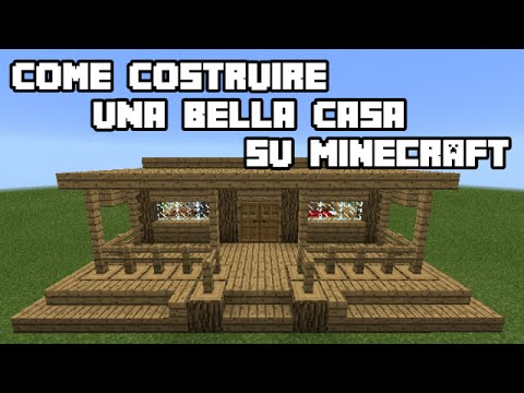 Case Piccole Ma Belle : ⚫ come costruire una bella casa su minecraft ⚫ tutorial ⚫ youtube