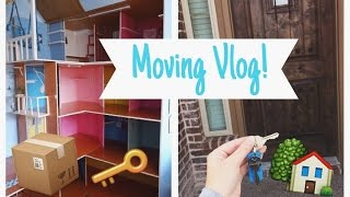 Moving Vlog Part 1 - Packing Up the Doll House?