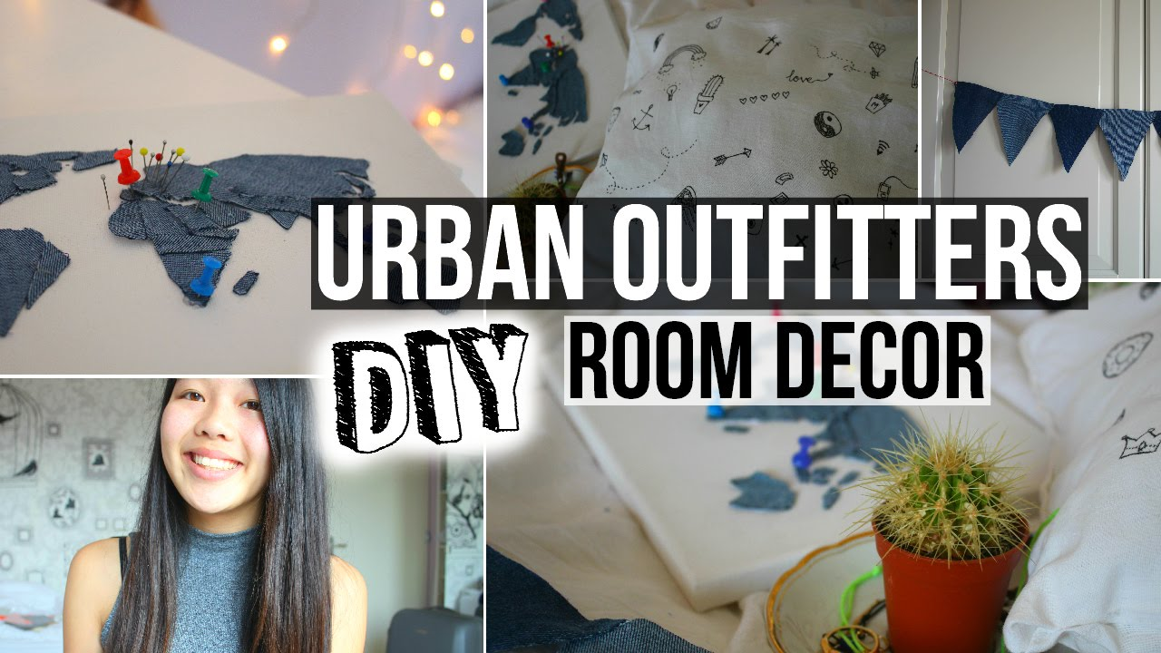 Diy urban outfitters inspired room decor youtube for Room decor urban outfitters