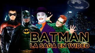 Batman de los 90: La Saga en 1 Video