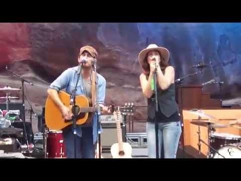 Gregory Alan Isakov + Brandi Carlile -That Moon Song - Colorado Red Rocks 07/14/12