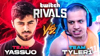 Yassuo | TEAM YASSUO VS TEAM TYLER1 (Twitch Rivals)