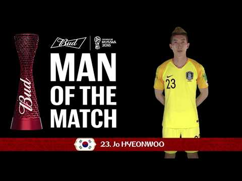 JO Hyeonwoo (Korea Republic) - Man of the Match - MATCH 43