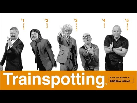 Graham and the cast of Trainspotting recreate the film's poster – The Graham Norton Show 2017 – BBC