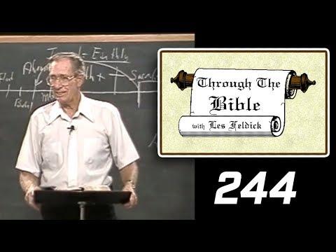[ 244 ] Les Feldick [ Book 21 - Lesson 1 - Part 4 ] Old Adam Crucified - Romans 3:19-22  d