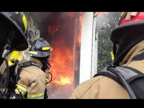 Live Burn Training - Rural House Fire Training - Volunteer Firefighter Education - C2FR