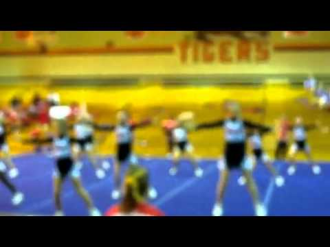 D.A.Smith Middle School Cheerleading competition