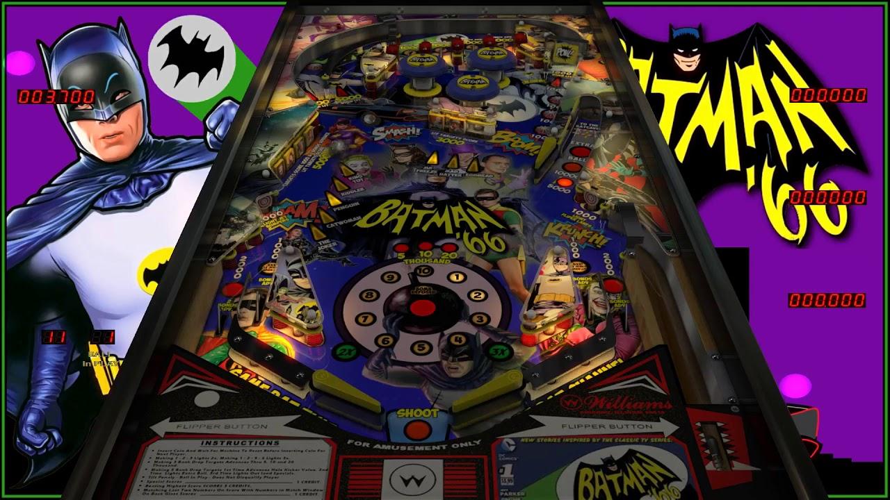 Batman '66 Original Pinball VPX