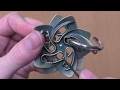 E14 - SOLUTION - Helix by Hanayama Cast Puzzles