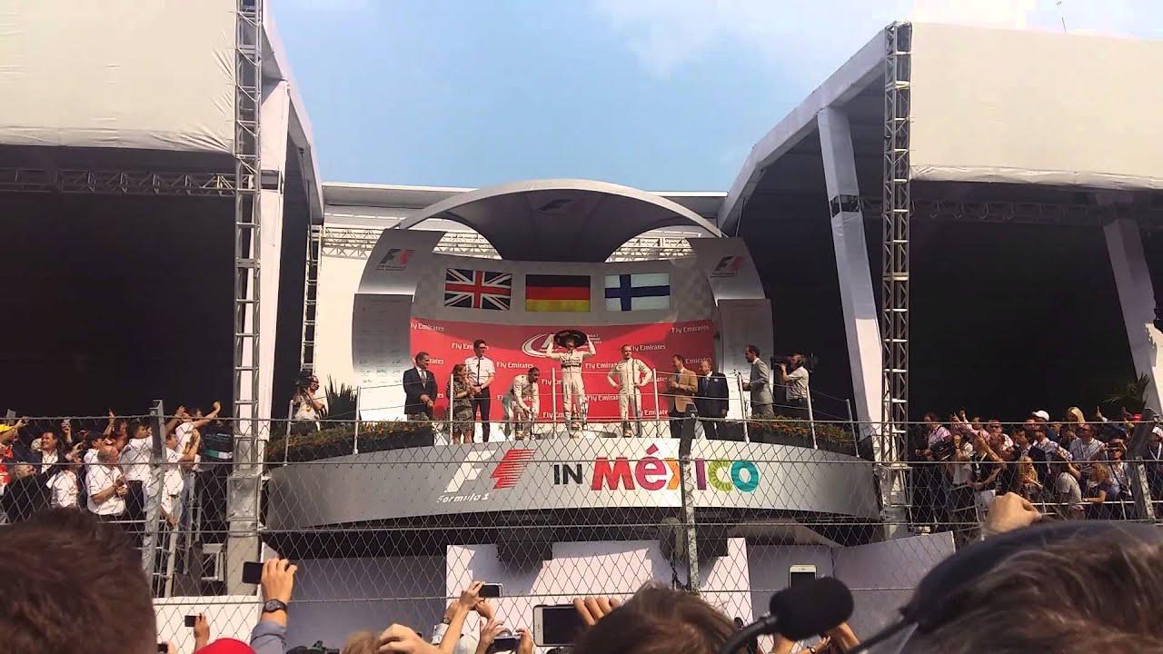 Download Podium GP MÉXICO F1 2015