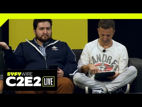 WATCH C2E2: Breckin Meyer plays Jackbox games