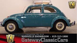 1963 Volkswagen Beetle, Gateway Classic Cars-Nashville#820