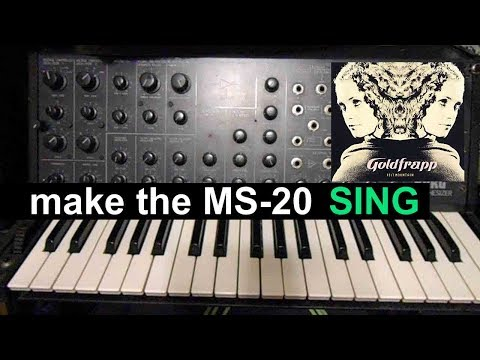 Make The Korg MS-20 Synthesizer Sing Like Goldfrapp