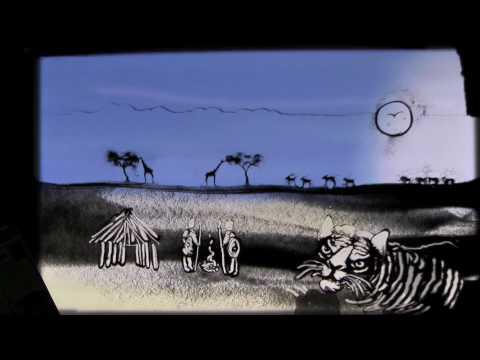 Sand Art: Wild Animals in Africa by Joe Castillo