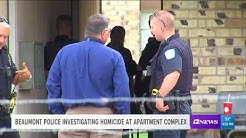 Beaumont Police investigating homicide at apartment complex in north end of Beaumont