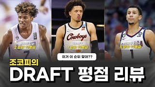 [DRAFT] 조코피의 시선으로 본 DRAFT 평점 리뷰, 선수를 가장 잘 데려간 팀은?!