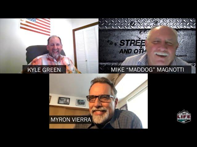 Street Talk & Other Stuff - Kyle Green and Myron Vierra