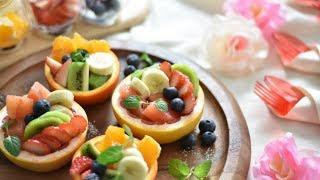 フルーツカップ|Party Kitchen - パーティーキッチンさんのレシピ書き起こし