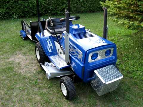 My Pimped Out Lawn Tractor Youtube