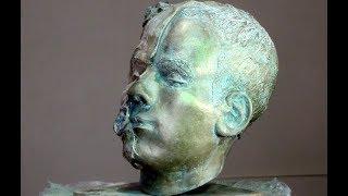 Тонировка под бронзу (Уроки скульптуры и рисунка)